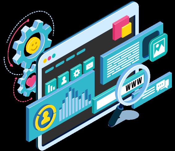 مبرمج يستخدم بعض الادوات فى نطاق برمجة وتصميم المواقع
